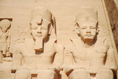 Monuments dans Abu Simbel photos stock