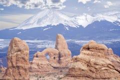 Monuments de l'Utah Images libres de droits