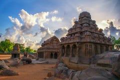 Monuments de Mamallapuram photographie stock