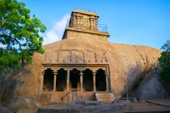 Monuments de Mamallapuram image libre de droits