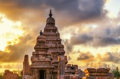 Monuments de Mamallapuram photo stock