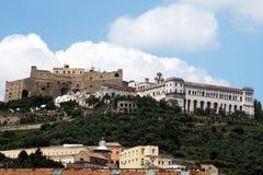 Monuments de Naples photo libre de droits