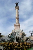 Monuments des Girondins. In Bordeaux France Stock Image