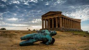 Monuments du passé Images stock