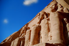 Monuments in Egypt Stock Photo