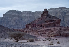 Monuments of Geological Park Timna Royalty Free Stock Photo