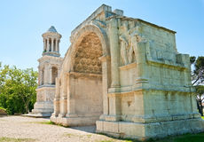 Monuments of Glanum Stock Photography