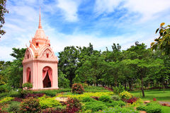 Monuments handwriting King Rama V Royalty Free Stock Photos