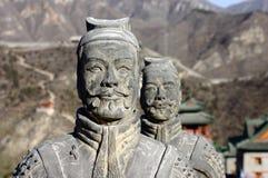 Monuments Humanoid stone Stock Photo