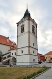 Monuments in Levoca, Slovakia. Royalty Free Stock Photo
