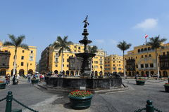 Monuments of Lima Royalty Free Stock Photography