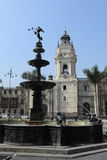 Monuments of Lima Stock Photo