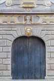 Monuments of the old city - Gdansk, Poland. Decorated, historic entrance - Old Town in Gdansk Royalty Free Stock Photos