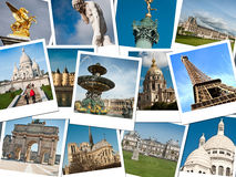 Monuments of Paris Stock Photography