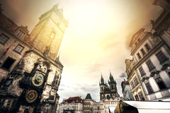 Monuments of Prague. Royalty Free Stock Photography