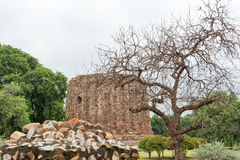 Monuments of Qutub Complex Royalty Free Stock Image
