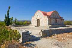 Monuments of Rhodes, Greece Royalty Free Stock Photography