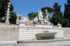 Monuments of Rome Royalty Free Stock Photos