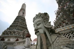 Monuments in Royal Palace in Bangkok, Thailand Royalty Free Stock Photo