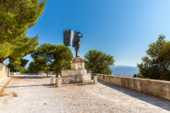 Monuments and sculptures Greece, Chania, Crete.T Stock Image