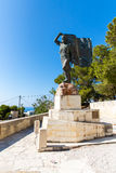 Monuments and sculptures Greece, Chania, Crete. Stock Photography