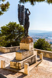Monuments and sculptures Greece, Chania, Crete Stock Image
