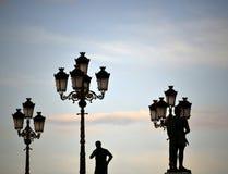 Monuments in Skopje Macedonia Stock Photo
