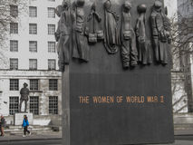 The Monuments to the Women of World War II Stock Photography