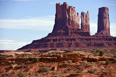 Monuments Valley USA Stock Image
