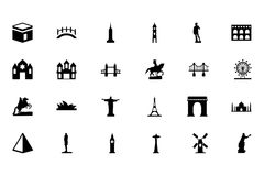 Monuments Vector Icons 1 Royalty Free Stock Photos