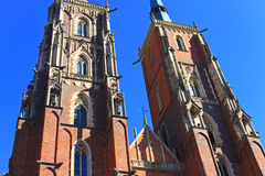 Monuments in Wroclaw, Poland Royalty Free Stock Image