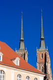 Monuments in Wroclaw, Poland Stock Image