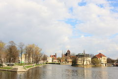 Monuments in Wroclaw, Poland Stock Photography