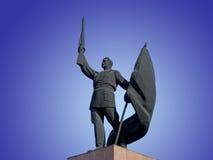 monumentsoldat till royaltyfri fotografi