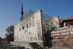 Monumentum Ancyranum - tempiale di Augustus immagine stock libera da diritti