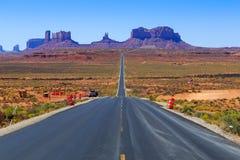 monumentväg till dalen royaltyfria bilder