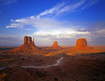 monumentvalley 6 Royaltyfria Bilder
