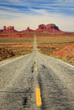 MonumentValley road Stock Photography