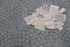 Monumentvitros Royaltyfri Foto