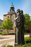 Monumet de los santos Cyril y de Methodius imágenes de archivo libres de regalías