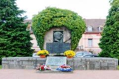 Monumnet Lallsacienne ` как память fot 1-ая мировая война Стоковые Изображения