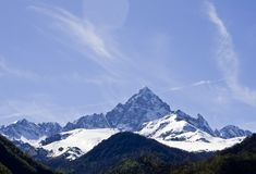 Monviso Royalty Free Stock Image