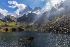 Monviso - Italien Stockbild