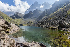 Monviso - l'Italie Photo stock