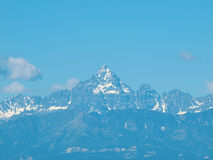 Monviso mountain Stock Photography