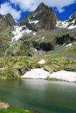 Monviso peak Royalty Free Stock Images
