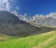 Monviso peak. Piemonte, Italian Alps. Royalty Free Stock Photography