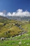 Monviso peak. Piemonte, Italian Alps. Royalty Free Stock Images