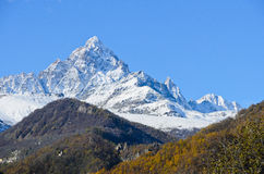 The Monviso Stock Image