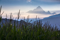 Monviso Stock Photo